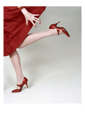 Vogue - February 1958 - Fleming-Joffe Red Heels