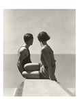 Vogue - July 1930 - Divers Regular Photographic Print par George Hoyningen-Huené