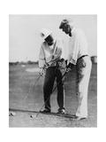 John D Rockefeller and SJ Peabody  March 1932