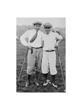 Gene Sarzen and Leo Diegel  The American Golfer March 8  1924
