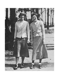 Charlotte Glutting &amp; Aniela Gorczyca American Golfer May 1934