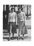 Charlotte Glutting & Aniela Gorczyca American Golfer May 1934