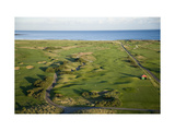 Carnoustie Golf Links  holes along the coastline