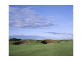 Carnoustie Golf Links  side-by-side bunkers