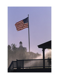 US flag at Pinehurst