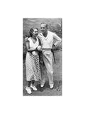 Al Jolson & Ruby Keeler American Golfer December 1934