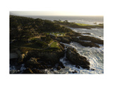 Cypress Point Golf Course  rocky coastline