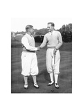 Bobby Jones and Gene Homans The American Golfer November 1930