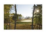 Osprey Meadows Golf Course  Hole 16 bunker