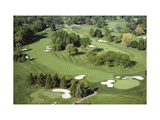 Oakland Hills Country Club  Hole 18 aerial