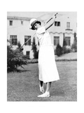 MIldred Babe Didrikson American Golfer  October 1932