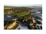 Cypress Point Golf Course  aerial coastline