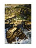 Cypress Point Golf Course  aerial coastline