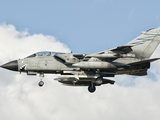 An Italian Air Force Panavia Tornado ECR Returns from a Mission over Libya