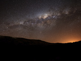 The Milky Way Setting Behind the Hills of Azul  Argentina