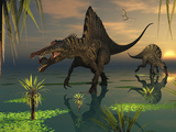 Artist&#39;s Concept of Spinosaurus