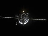 The Progress 41 Resupply Vehicle in Orbit