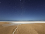 Alpha and Beta Centauri Seen from the Beach in Miramar  Argentina