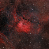 Emission Nebula NGC 6820
