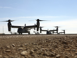 V-22 Osprey Tiltrotor Aircraft Arrive at Camp Bastion  Afghanistan