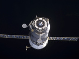 The Progress 40 Resupply Vehicle in Orbit