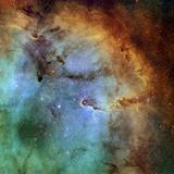 The Elephant Trunk Nebula Papier Photo par Stocktrek Images
