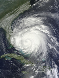Satellite View of Hurricane Irene over the Bahamas