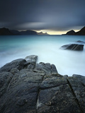 A Long Exposure Scene at Haukland Beach in Lofoten  Norway