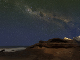The Milky Way over the Cliffs of Miramar  Argentina