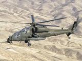 An Italian Army AW-129 Mangusta over Afghanistan