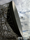 The Lovell Telescope at Jodrell Bank Observatory in Cheshire  England