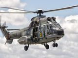 A Eurocopter AS332 Super Puma Helicopter of the Brazilian Navy