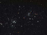 The Double Cluster in the Constellation Perseus