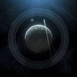 Illustration of a Simple Planet and its Ring System