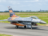 A Turkish Air Force F-16C Fighting Falcon on the Flight Line at Cambrai Air Base  France