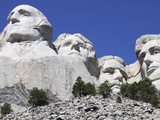 Mount Rushmore National Memorial  South Dakota  Usa