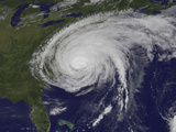 Satellite View of Hurricane Irene