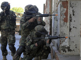 Chilean Marines Participate in a Military Operations and Urban Training Exercise