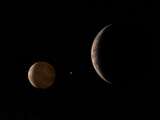 Artist's Concept of Pluto and its Moon Charon