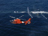 A Helicopter Crew Trains Off the Coast of Jacksonville  Florida