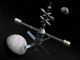 Artist&#39;s Concept of a Lunar Cycler