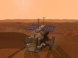 Artist&#39;s Concept of a Martian Rover