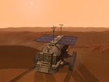 Artist's Concept of a Martian Rover