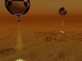 A Pair of Balloon-Borne Probes Leisurely Survey the Surface of Titan