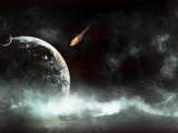 An Abandoned Planet About to Get Hit by a Gigantic Asteroid