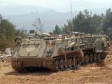 A M113 Armored Personnel Carrier of the Israel Defense Forces