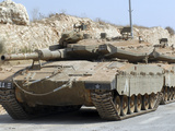 The Merkava Mark IV Main Battle Tank of the Israel Defense Force