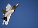 An F-22 Raptor Aircraft Performs During Aviation Nation 2010