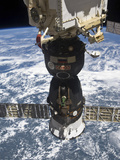 The Soyuz TMA-19 Spacecraft Docked to the Rassvet Mini-Research Module 1