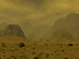 Artist's Concept of the Surface of Venus